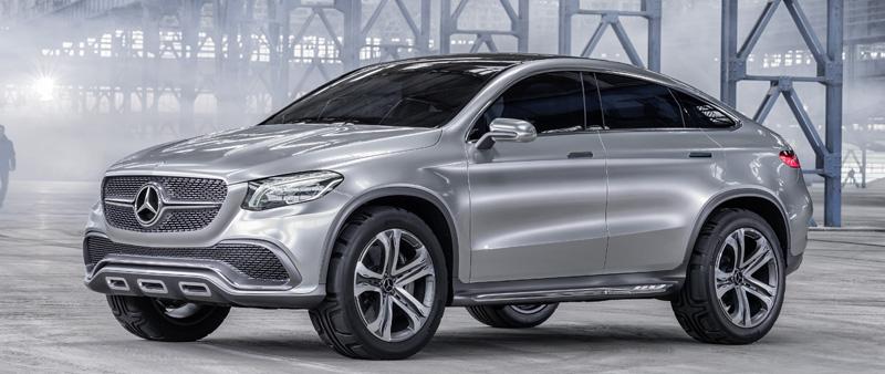 Sportieve Concept Coupe Suv Voor Mercedes Mercedes