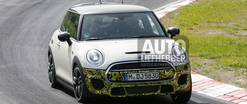 2014 model Mini John Cooper Works gespot