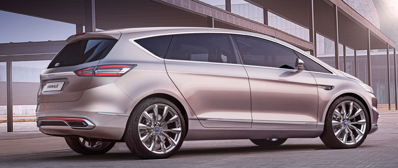 Ford onthult S-MAX Vignale Concept in foto en beeld