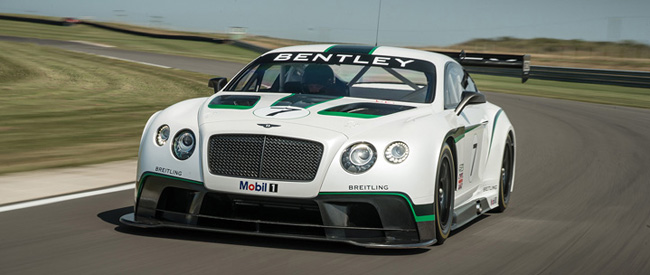 Bentley onthult details Continental GT3 op Goodwood Festival