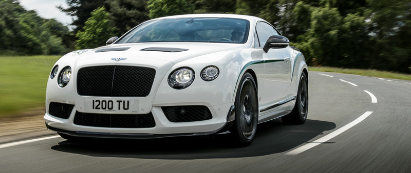 Sportief is de nieuwe Bentley Continental GT3-R