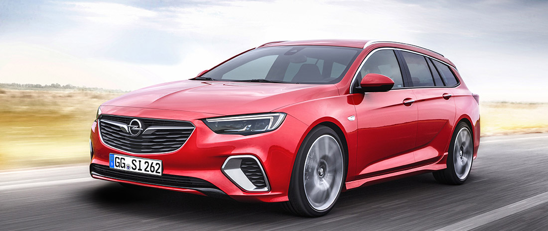 Opel Insignia GSi Sports Tourer is Topversie