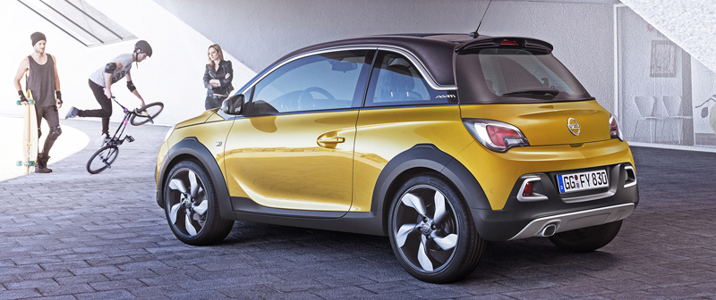 Opel Adam Rocks is nieuwe crossover