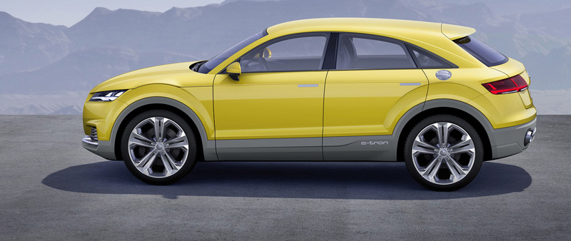 Audi TT offroad concept is interessante hightech