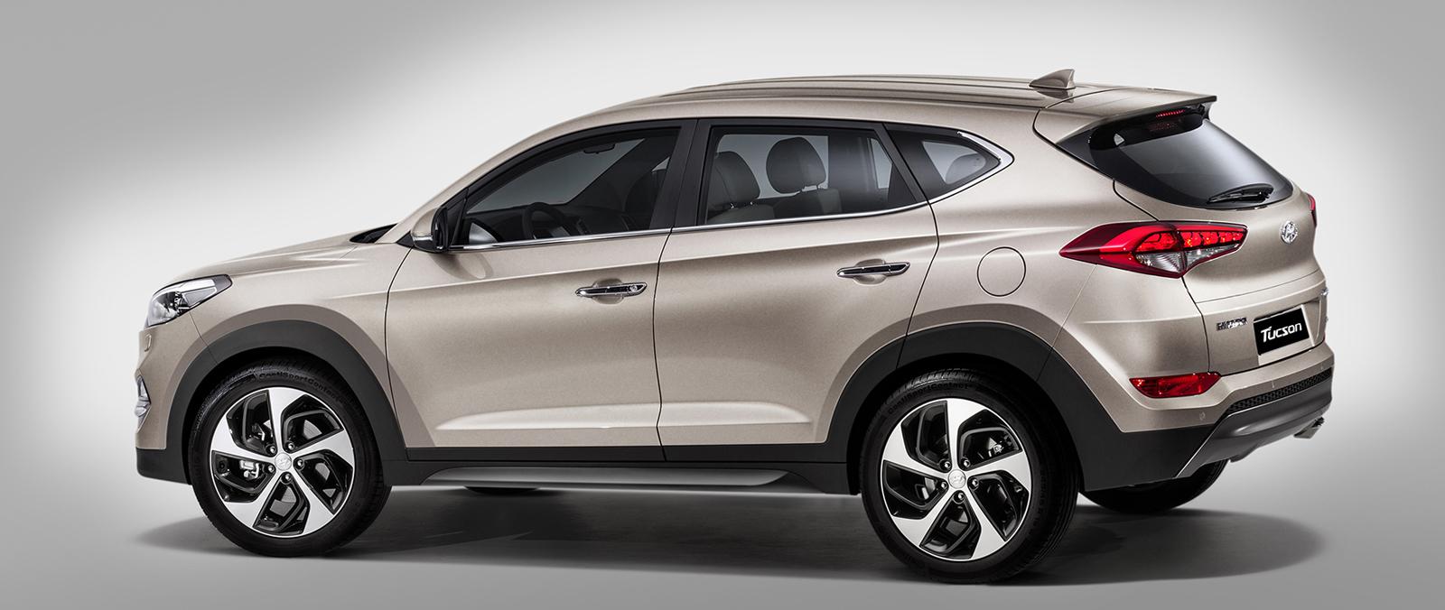 Geheel Nieuwe Hyundai Tucson In Geneve Hyundai
