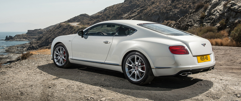 Debuut Bentley Continental GT V8 S