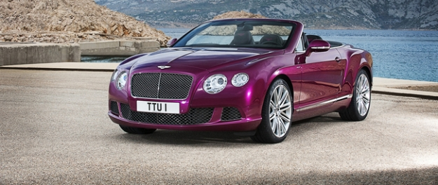 Bentley Continental GT Speed Convertible debuut in Detroit