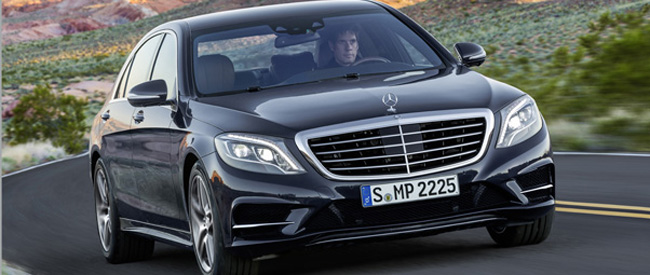 Check out de nieuwe Mercedes S klasse