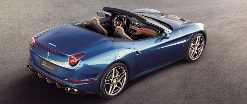 Ferrari California T in Zwitserland met V8 turbo motor