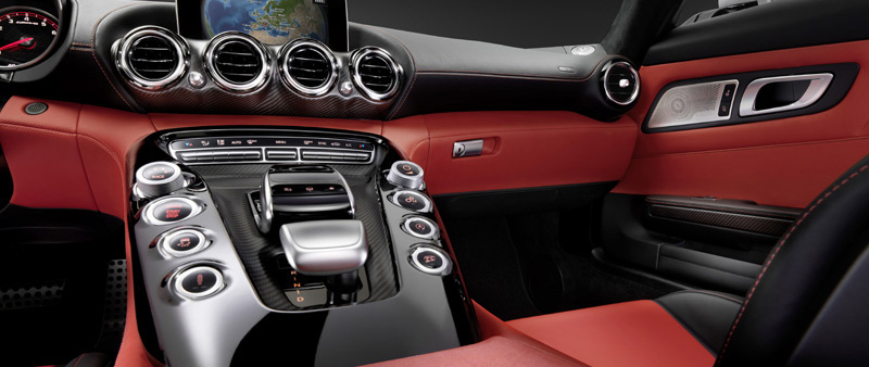 Sneak preview interieur Mercedes AMG GT