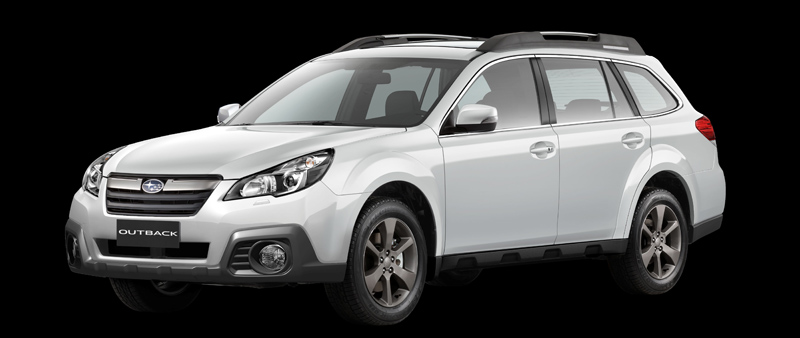 Dit is de Subaru Outback X