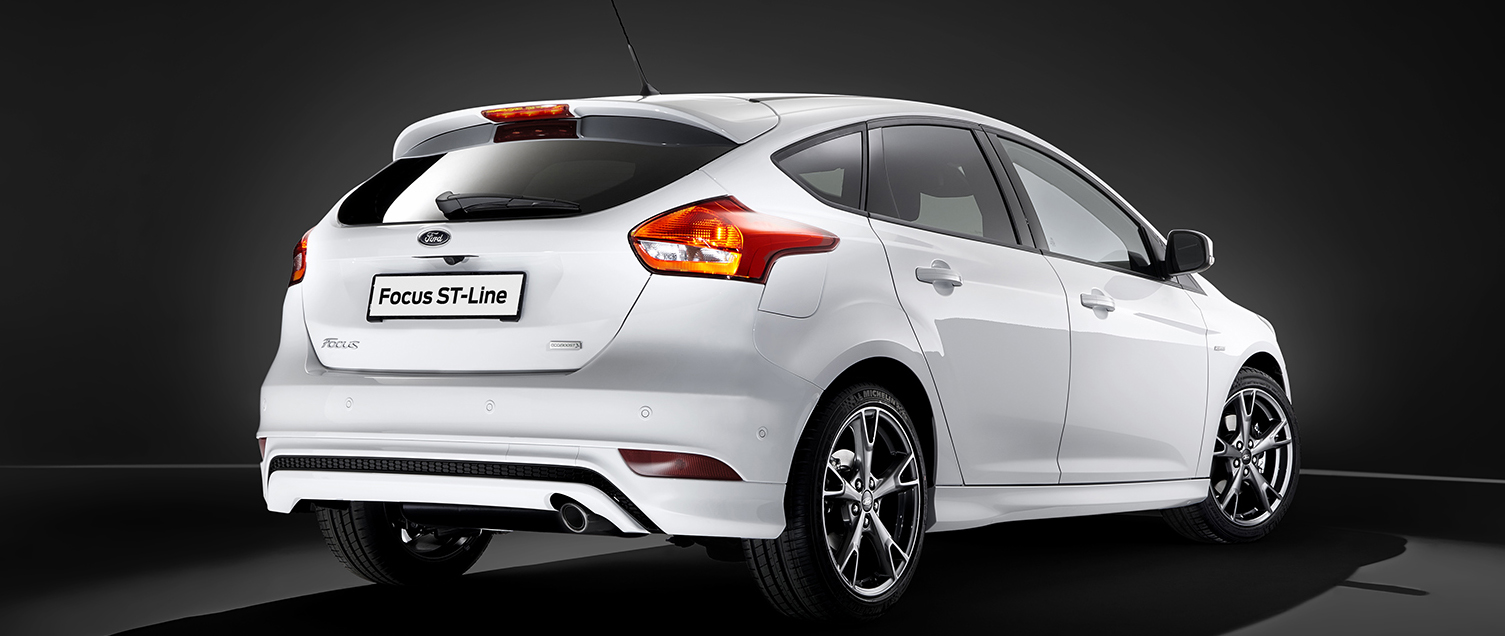 Ford Focus nu ook als sportieve ST-Line