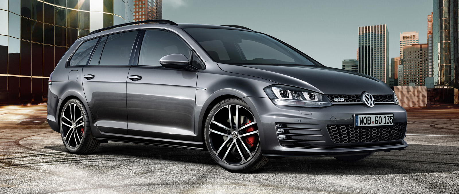 Volkswagen Golf GTD Wagon ook in Geneve