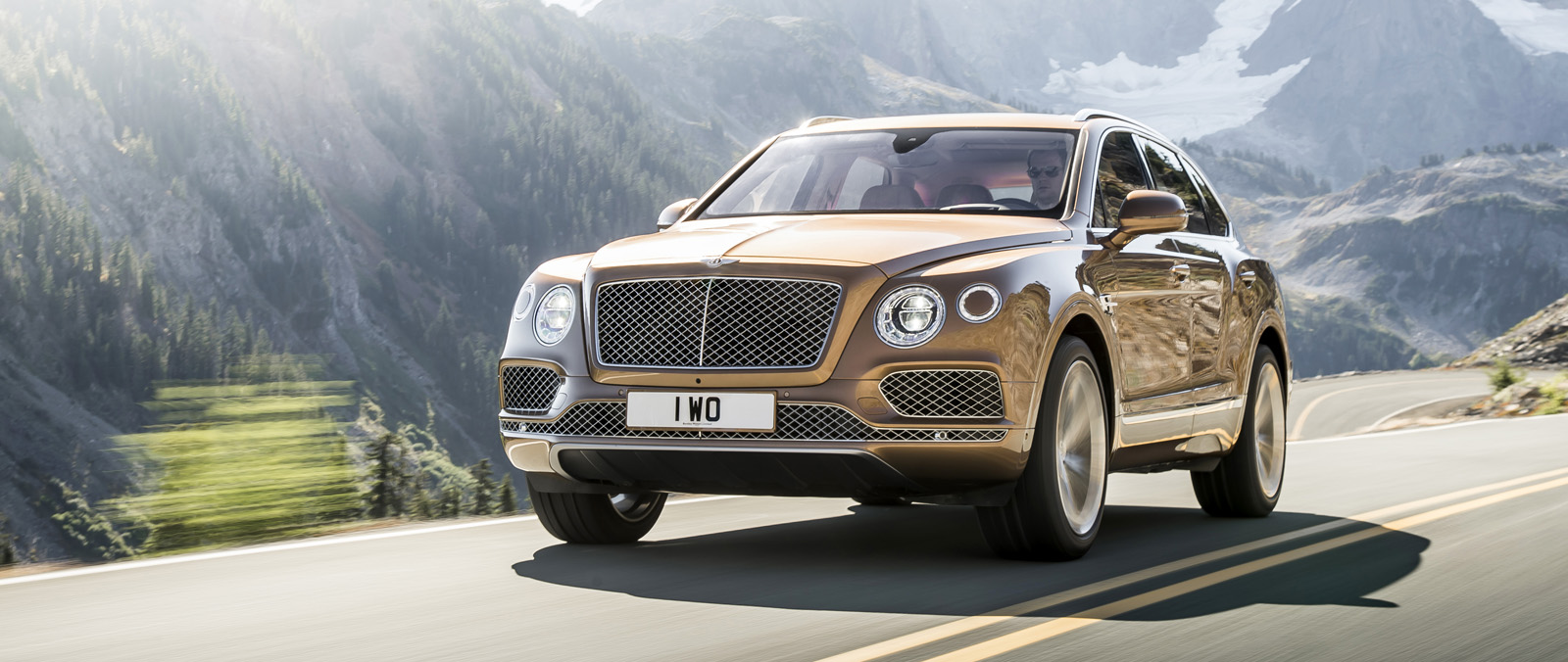 Bentley Bentayga in de schijnwerpers