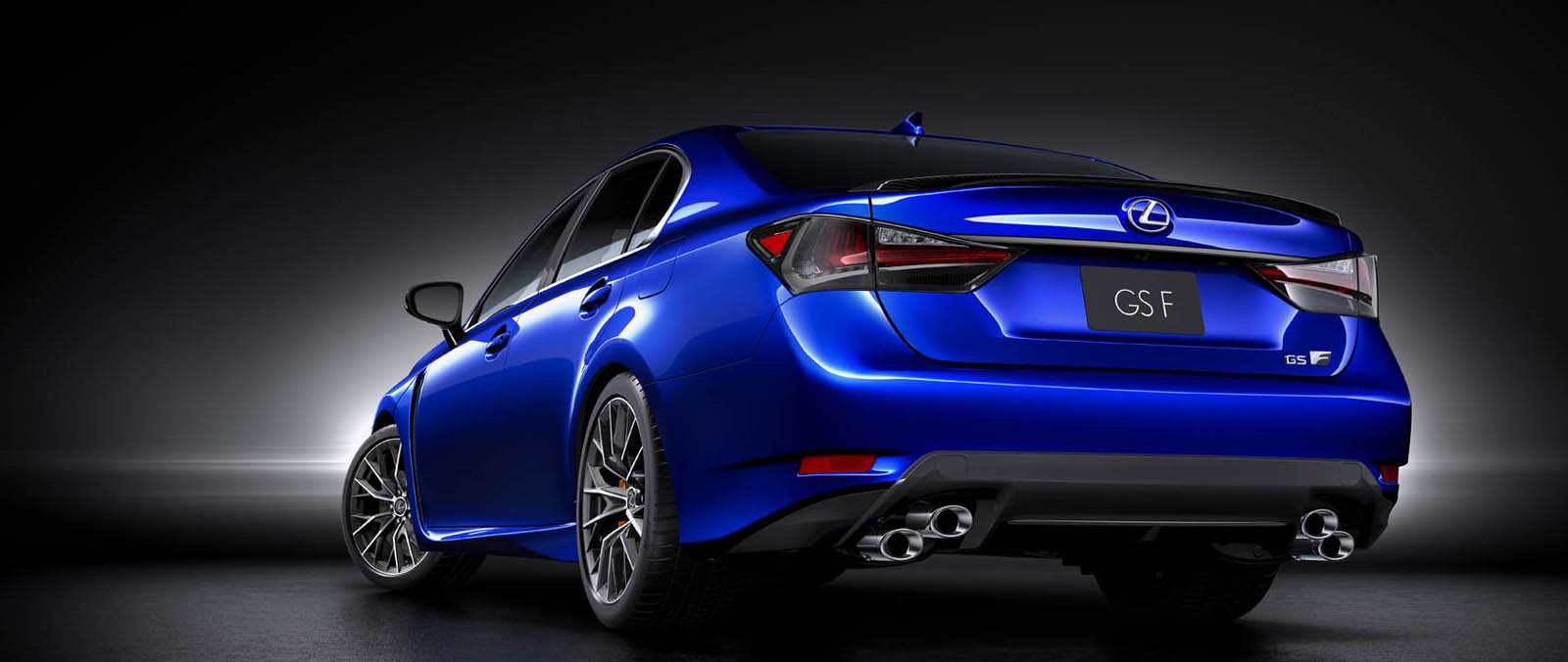 Lexus GS F met high performance V8