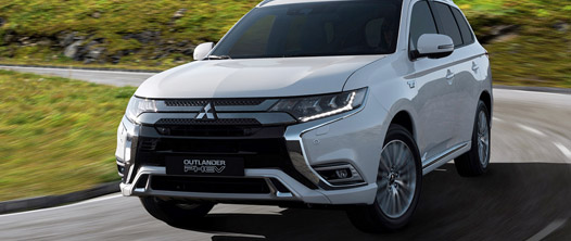 Mitsubishi Outlander PHEV model 2019