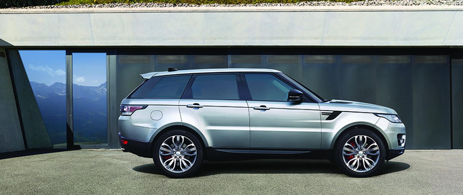 Update voor Range Rover Sport