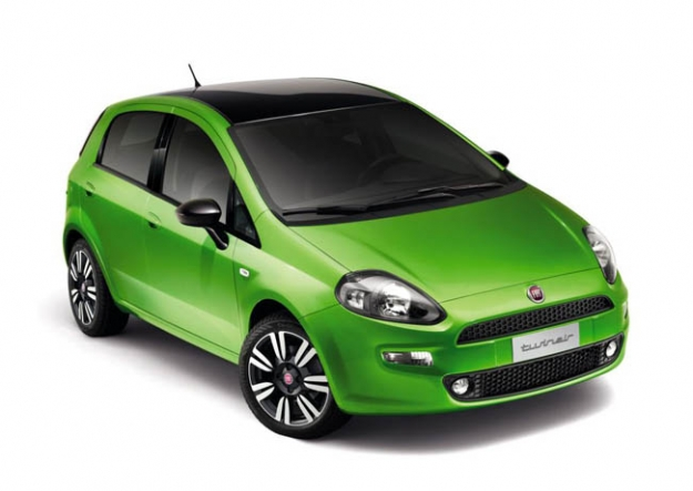 Internationaal debuut van de Fiat Punto 2012