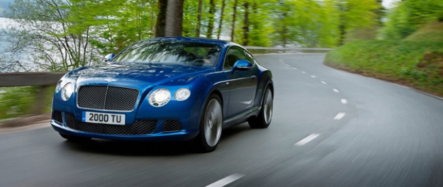 Bentley Continental GT Speed Coupé