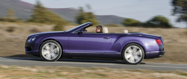 Bentley Continental GTC V8 convertible in Geneve 2012