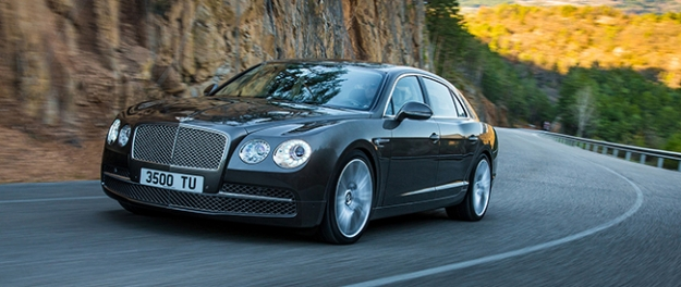 Nieuwe kantoor: Bentley Flying Spur