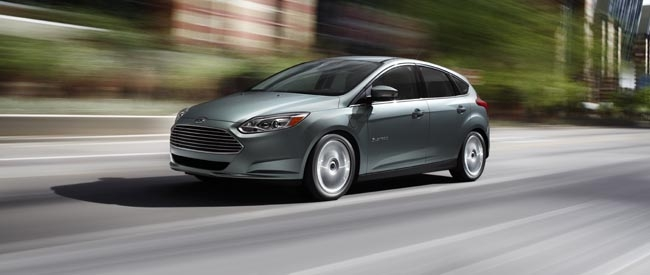 Ford onthuld de Focus Electric