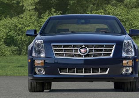 Cadillac STS - Grote facelift