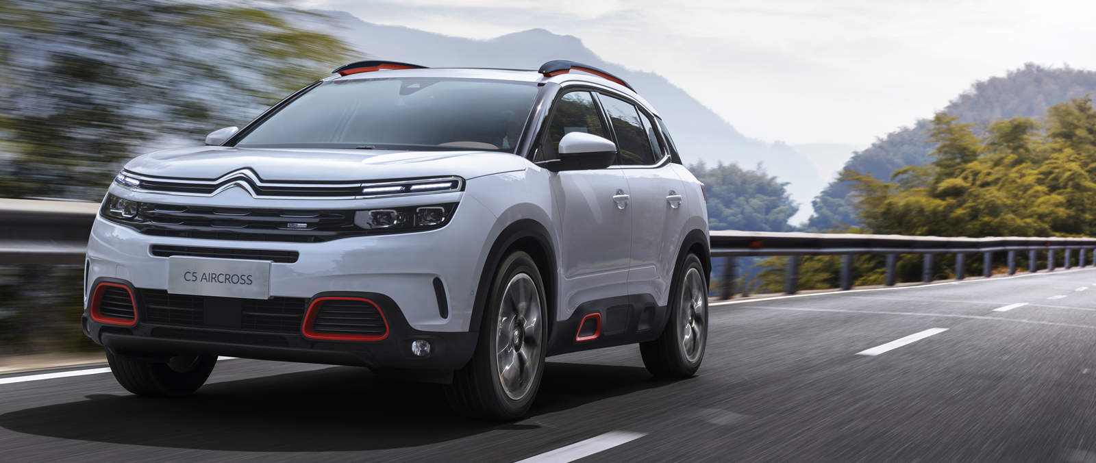 Citroen C5 Aircross in Shanghai onthuld
