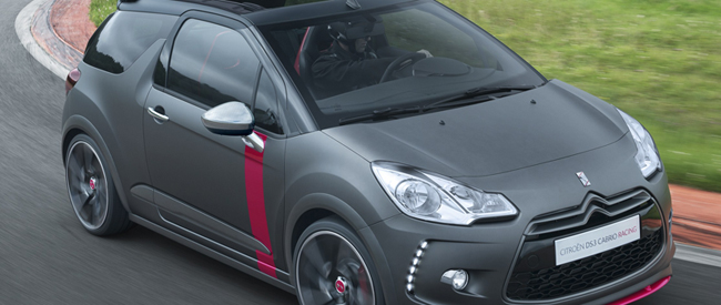 Citroen DS3 Cabrio Racing op Goodwood