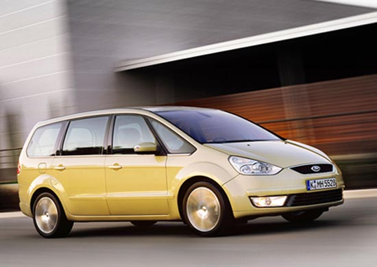 Ford Galaxy is nieuw