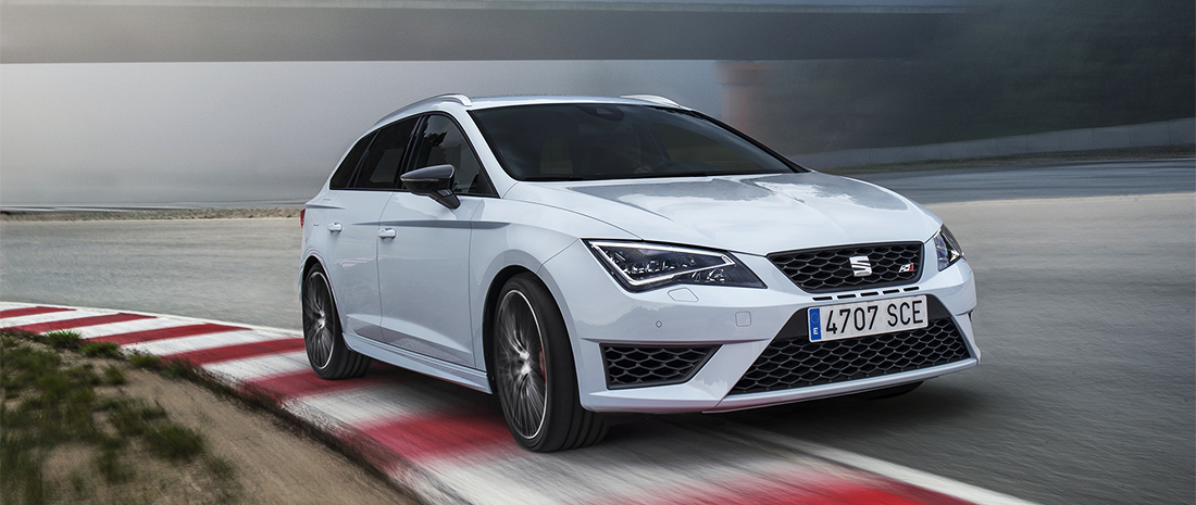 Seat Leon ST CUPRA 280 is hot estate