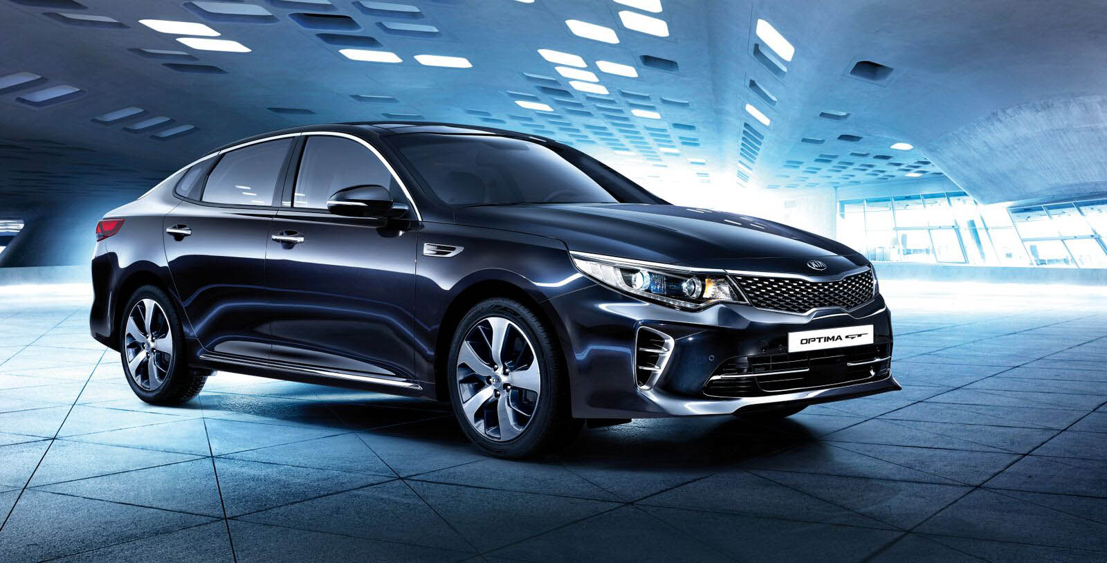 High-performance Kia Optima GT