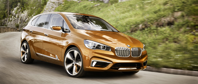 Stoer en hybride is deze BMW Concept Active Tourer Outdoor