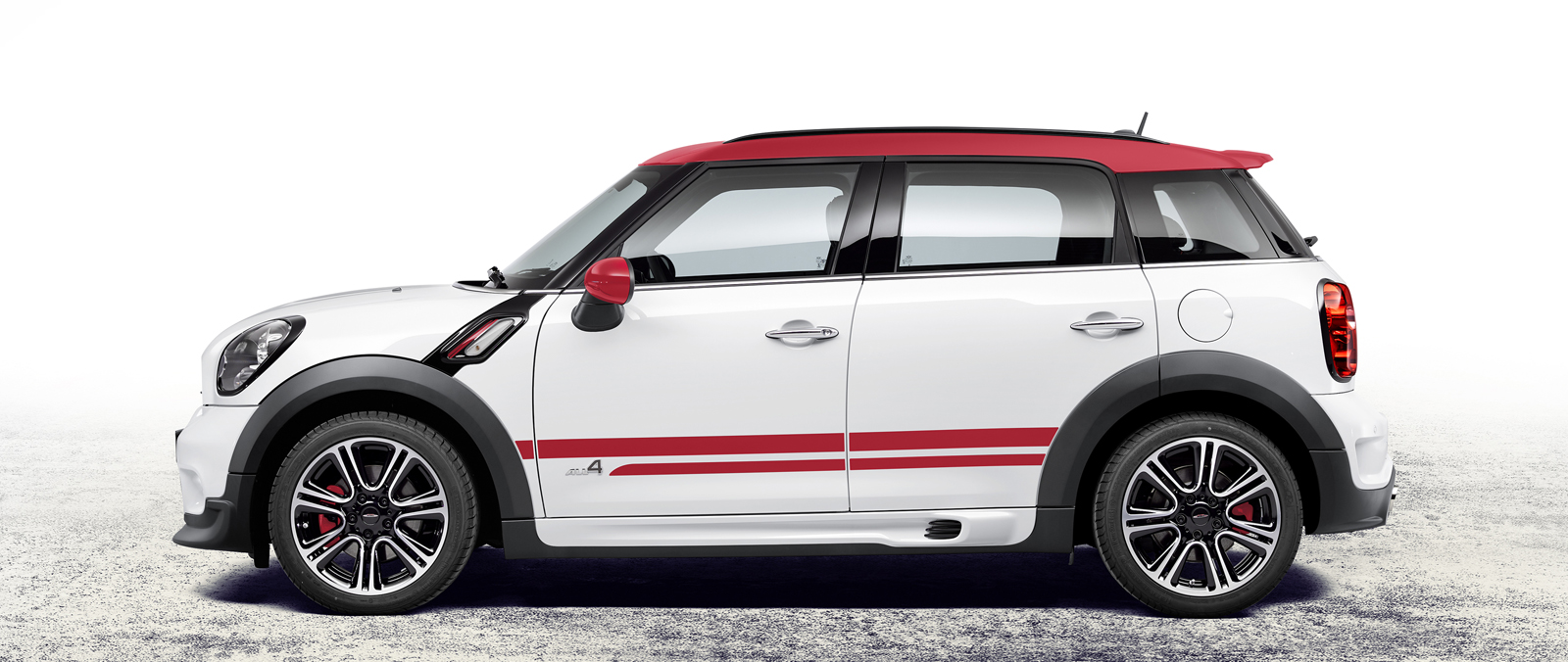 Mini John Cooper Works Countryman uit Born is klaar