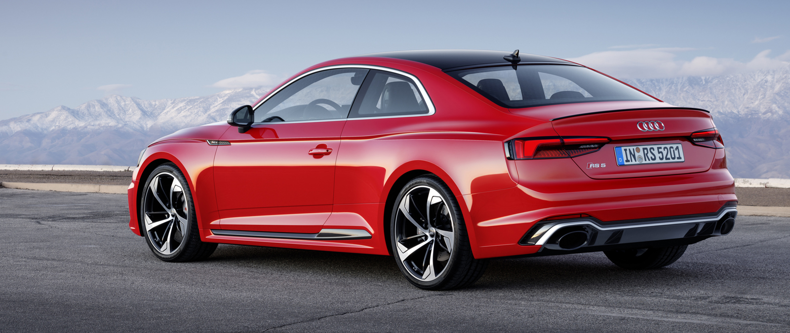 Audi RS 5 Coupe is krachtiger en sneller
