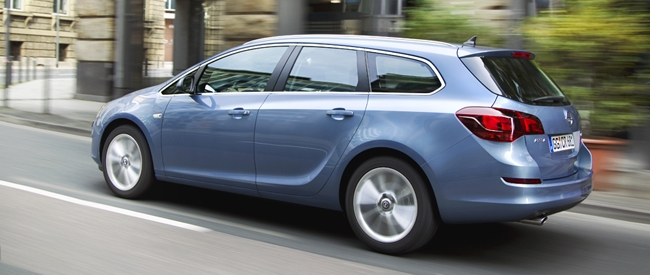 Opel Astra Sports Tourer nu in de showroom