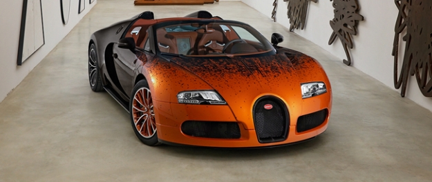 Bugatti Veyron Grand Sport Venet is uniek