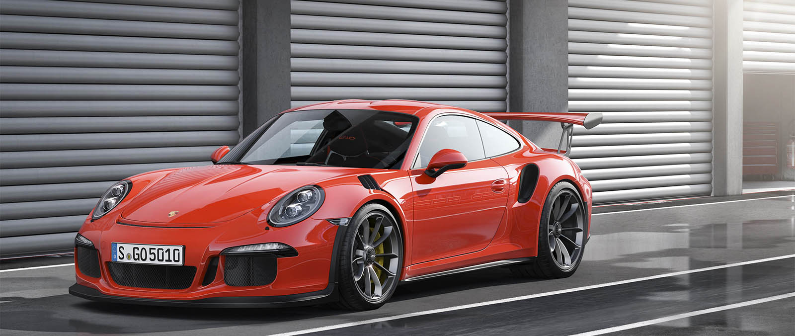 Ultrasportieve Porsche 911 GT3 RS in Geneve