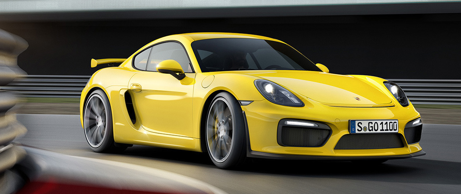 Porsche Cayman GT4 is pure sportwagen