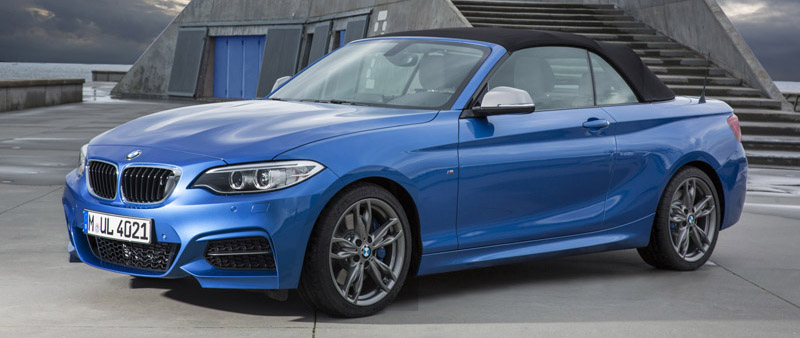 BMW introduceert BMW 2 Serie Cabrio