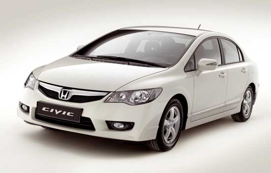 Honda Civic Hybrid is vernieuwd