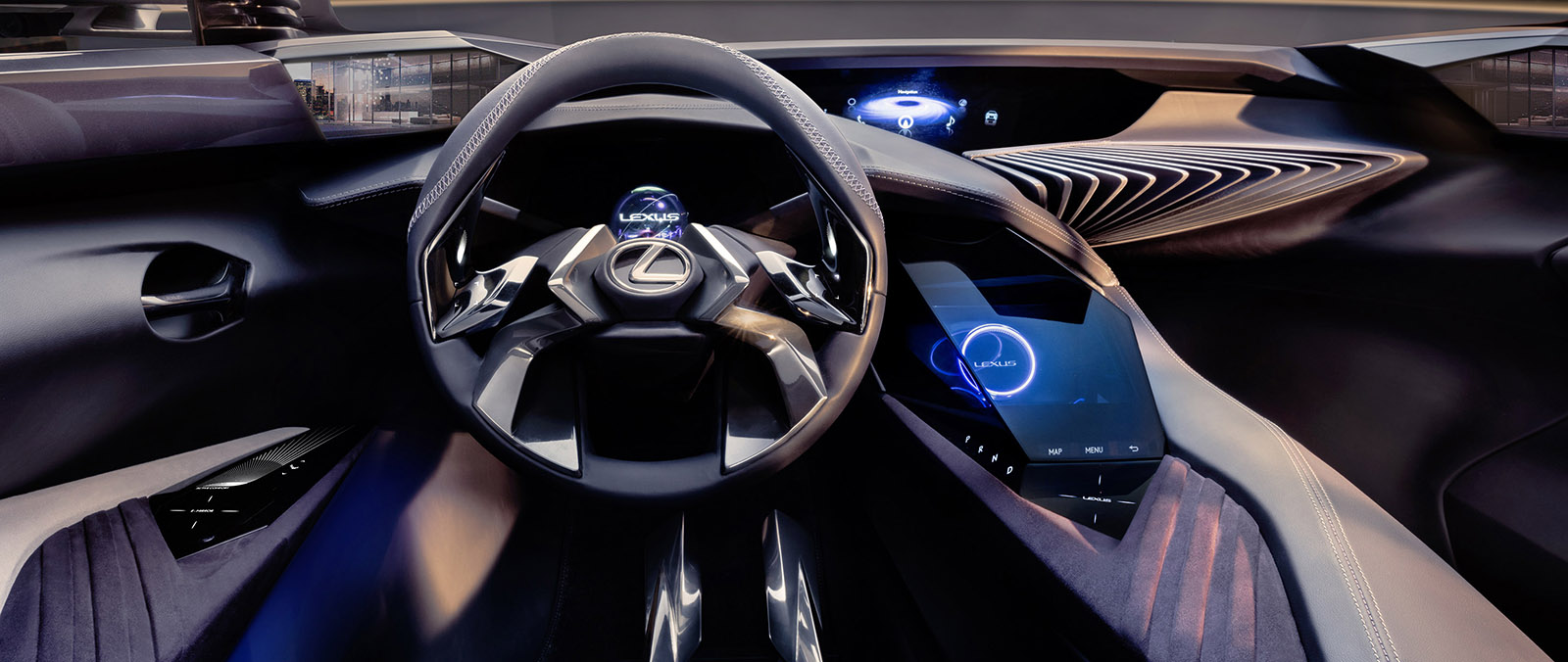 Lexus UX Concept met 3D-Human Machine Interface