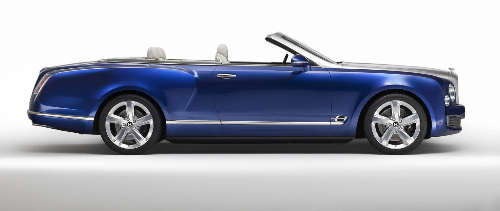 Bentley Grand Convertible  open(t) emoties