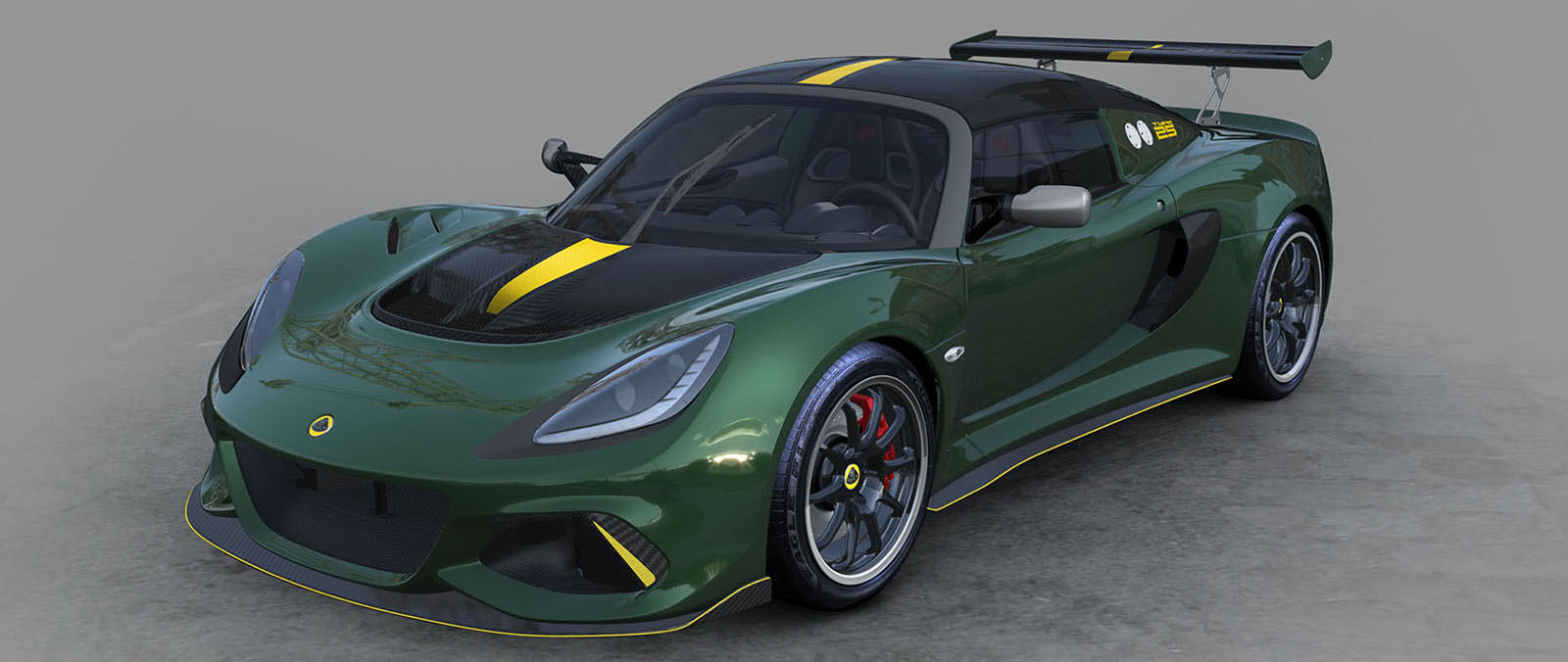De Lotus Exige Cup 430 Type 25 Edition