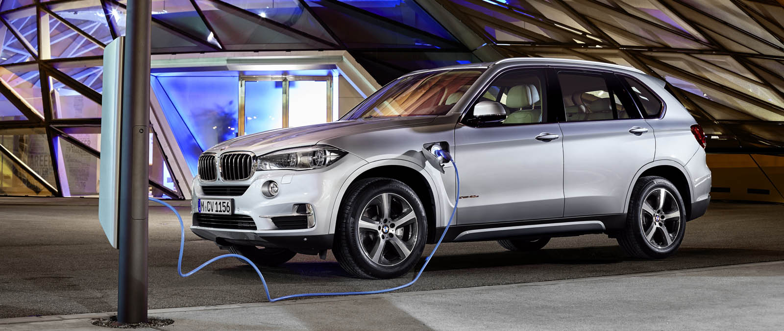 BMW X5 xDrive40e is krachtige plug-in hybride