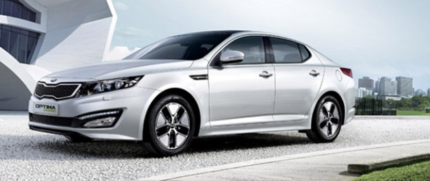 Kia Optima Hybrid direct te bestellen