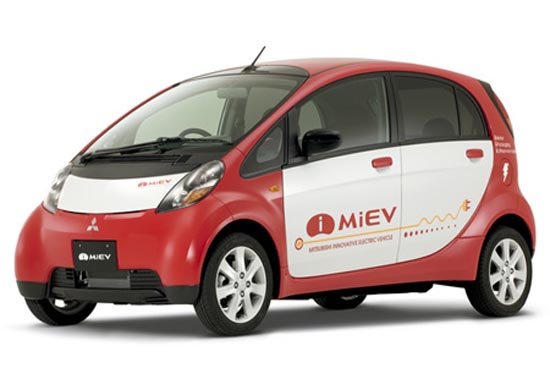 Mitsubishi i MiEV tests in Ijsland