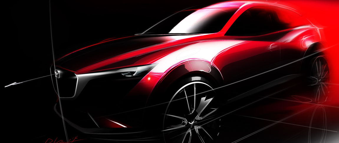 Mazda CX-3 op Los Angeles Auto Show 2014