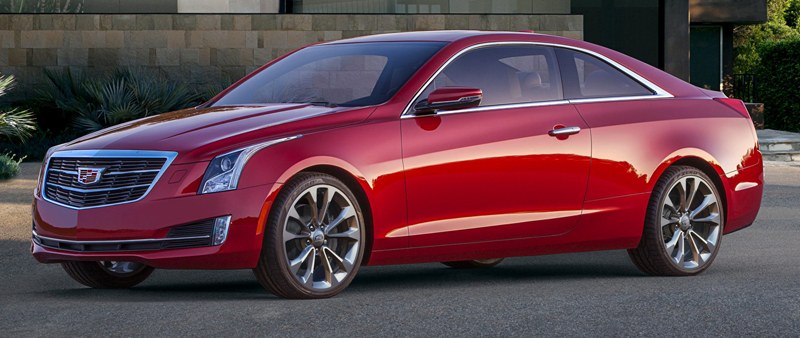 Cadillac ATS Coupe op NAIAS in Detroit