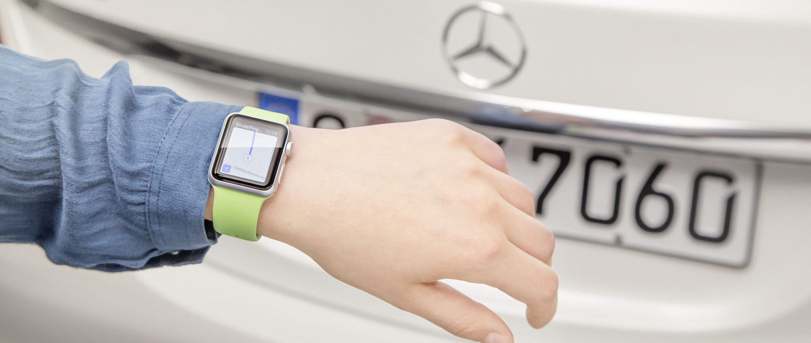 Mercedes presenteert nieuwe app voor Apple Watch